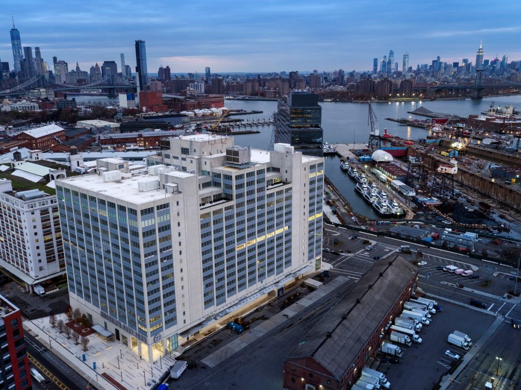 Brooklyn Navy Yard Development Corporation Offices by Smith-Miller + Hawkinson Architects LLP